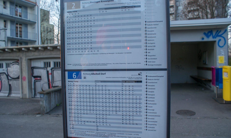 Удобные расписания на остановках