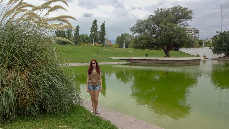 В центральном парке