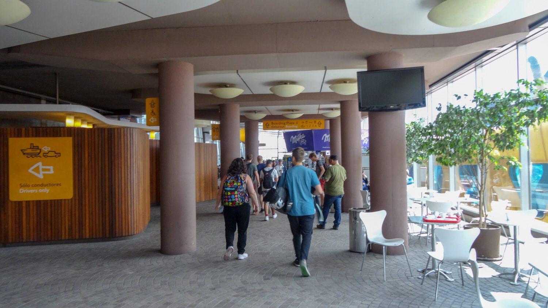 Терминал компании Buquebus