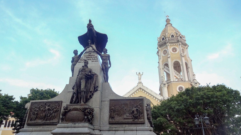 На площади Симона Боливара
