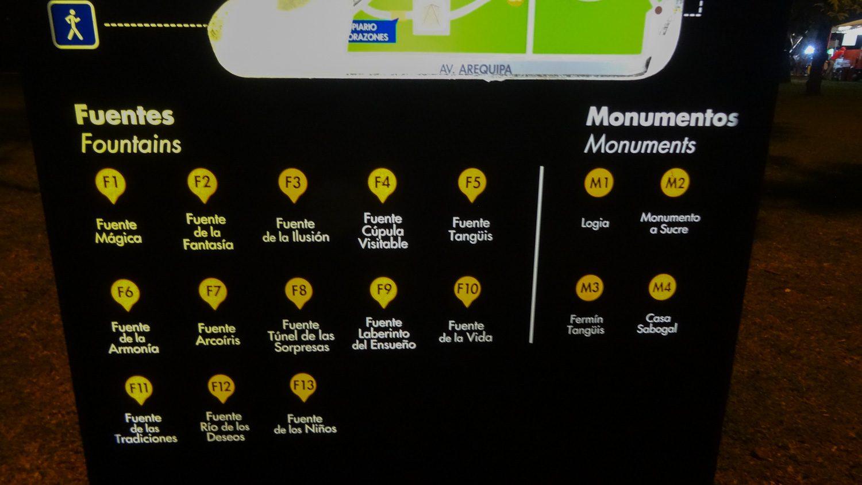 Список фонтанов