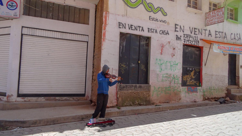Одинокий скрипач