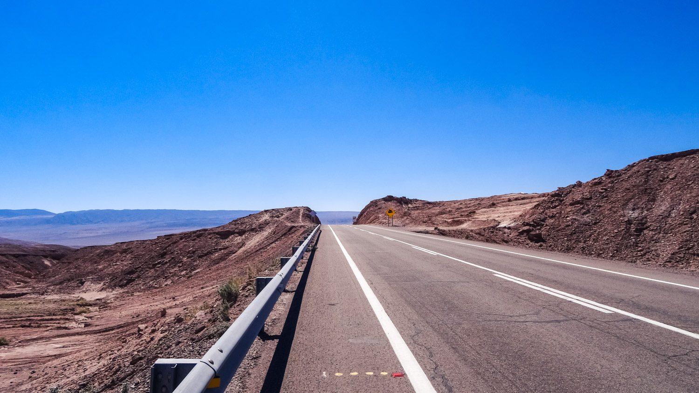 Снова на трассе Калама - Сан-Педро-де-Атакама