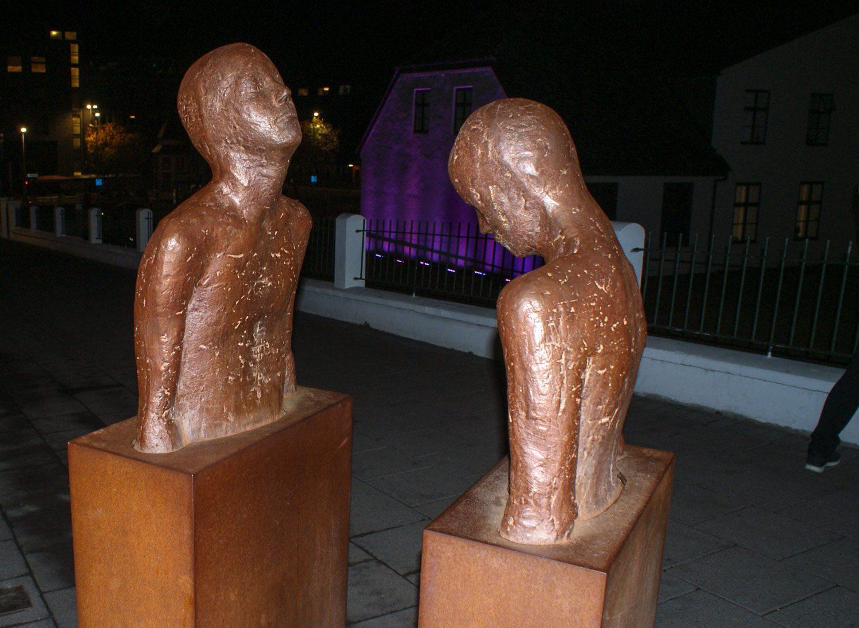 И еще необычные скульптуры