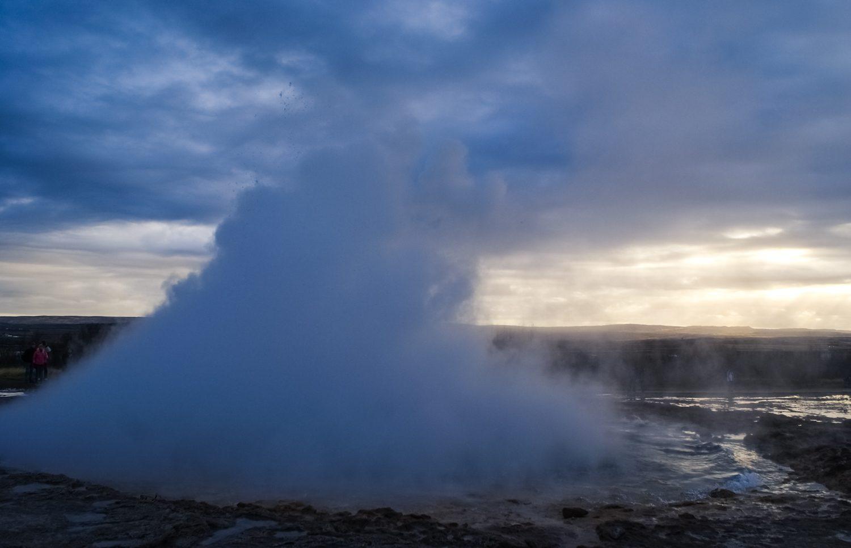 Извержение Большого гейзера