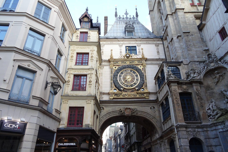 Улица Больших часов (Gros-Horloge)