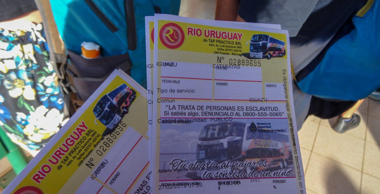 Билеты на автобус до парка