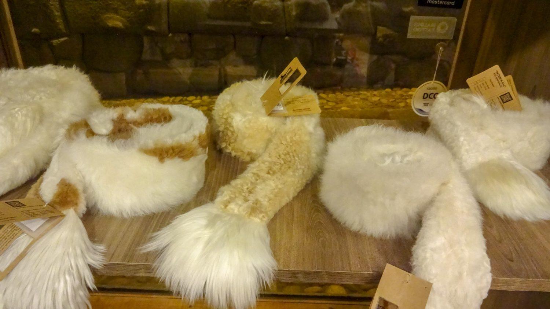Изделия из шерсти ламы
