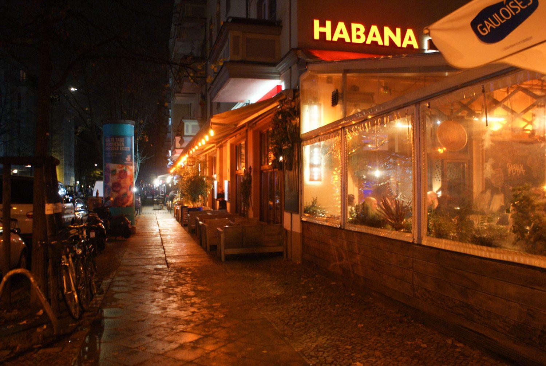 Вечерние улицы Берлина