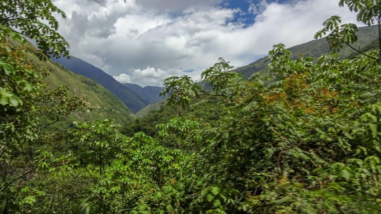 Пейзажи по пути из Куско в Гидроэлектрику