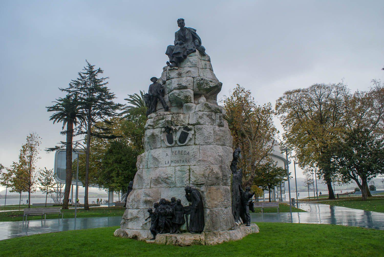 Монумент José María de Pereda