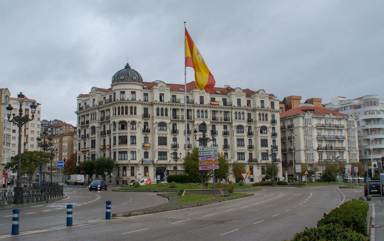 Огромный флаг Испании