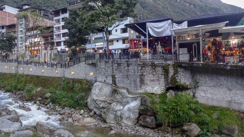Река Агуас-Кальентес