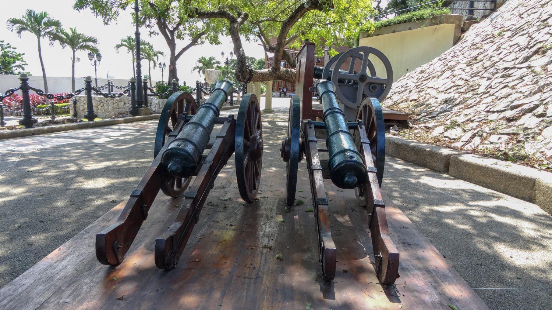 Старые пушки...