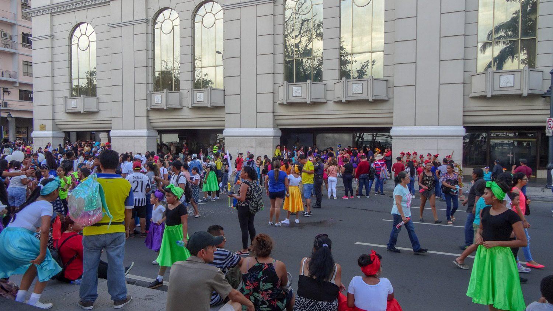 Репетиции прямо на улицах