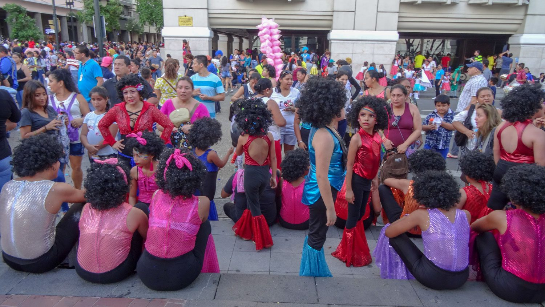 Подготовка к карнавалу