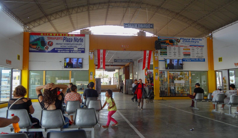 Вокзал в Чиклайо