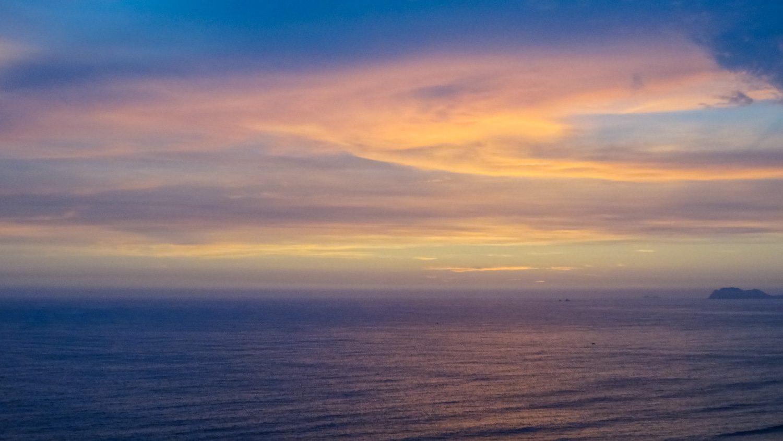 Закаты на Мирафлоресе великолепны!