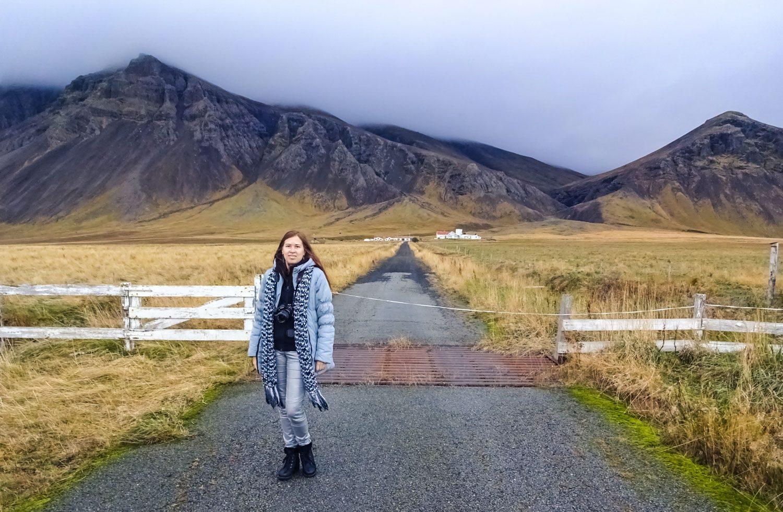 Пустая дорога. В Исландии это типично