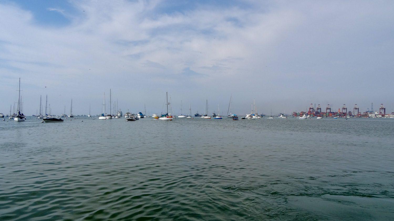 Небольшой яхтенный порт