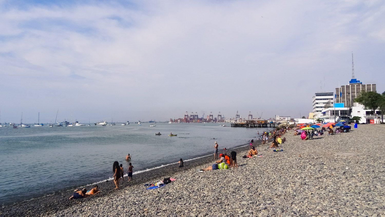 Оставляем пляж в Кальяо позади и отправляемся в путь