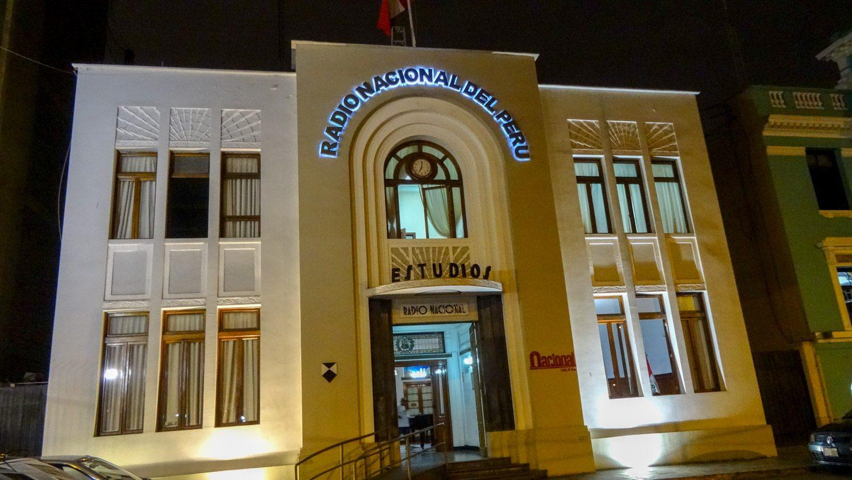 Здание национального радио
