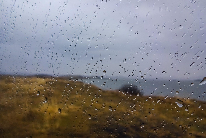 Дождь начался...