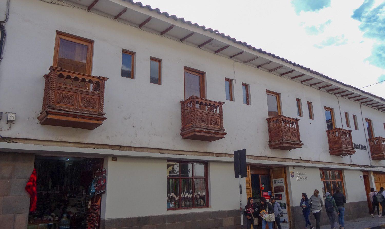 И маленькие балкончики