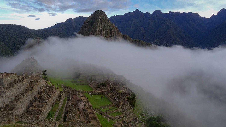 И сам древний город скрыт в тумане