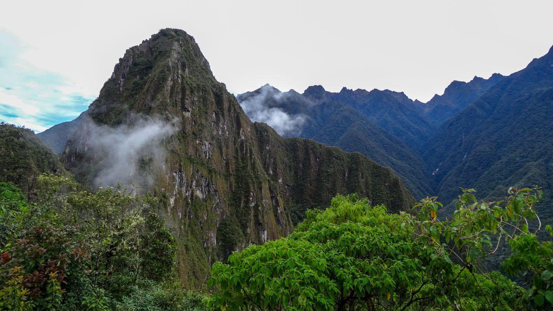 И на гору Уайна-Пикчу