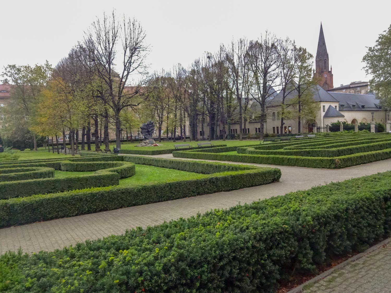 Парк у Императорского замка