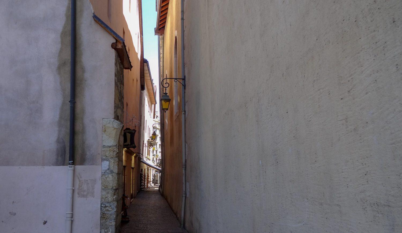 Узкая улочка в центре