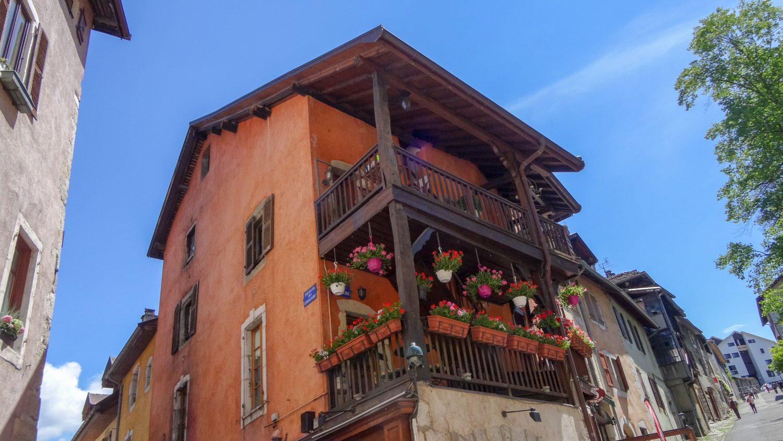Украшенные балконы