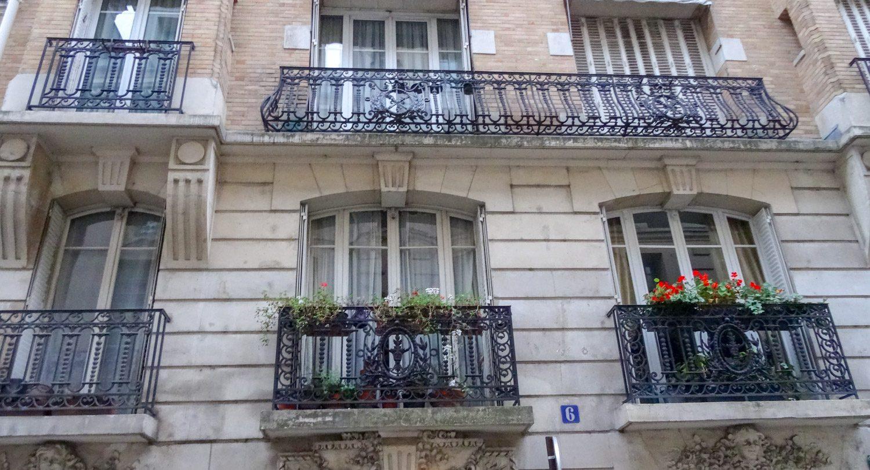 Прекрасные парижские решетки