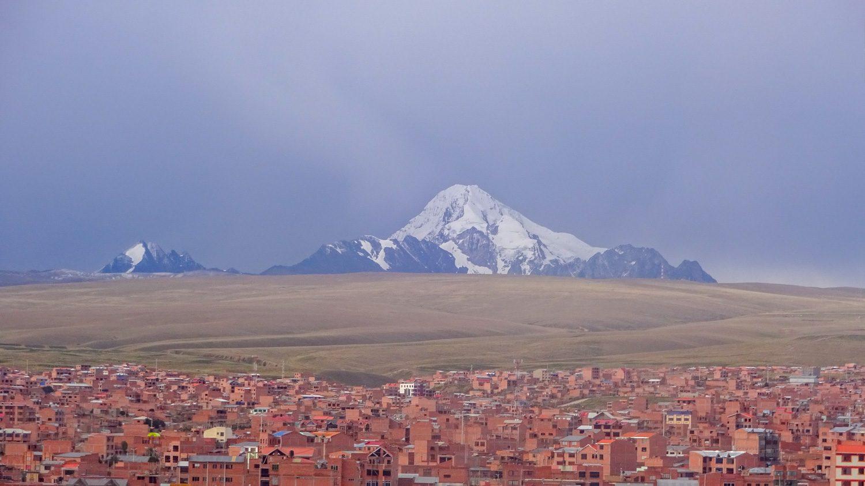 Видны горы