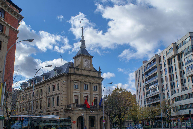 Здание правительственной делегации