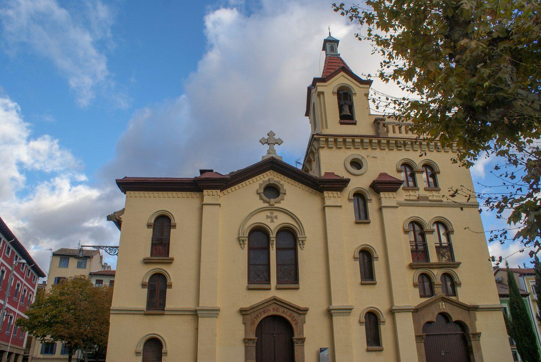 Церковь San Fermin De Aldapa