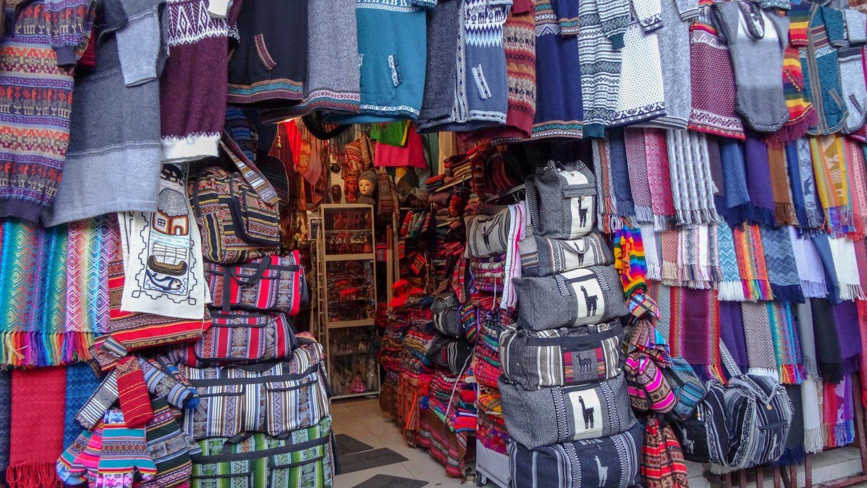 Боливийские сувениры
