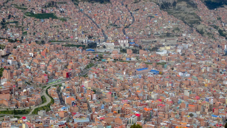 И вот так отсюда выглядит Ла-Пас