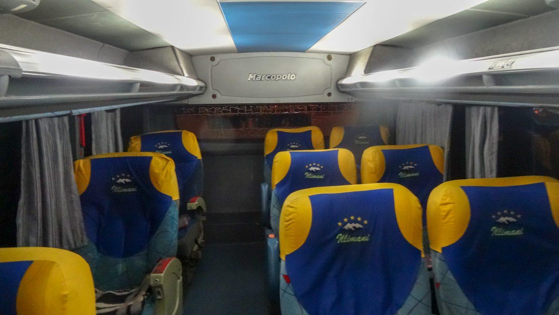 Автобус из Ла-Паса в Уюни
