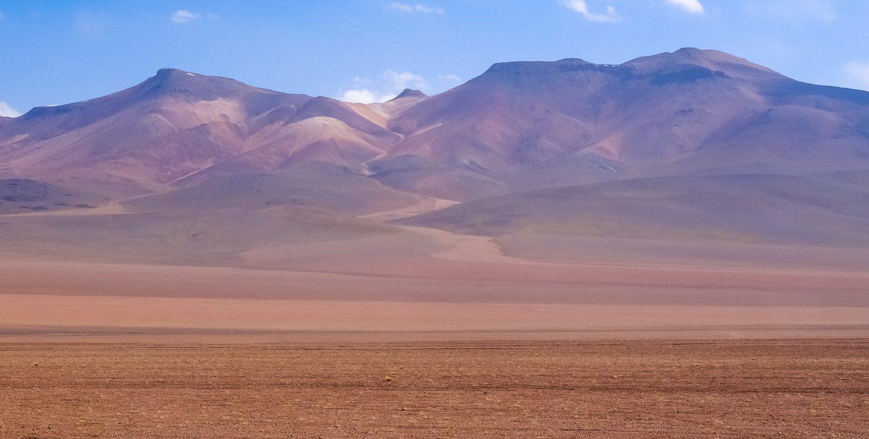 Горы необычного цвета