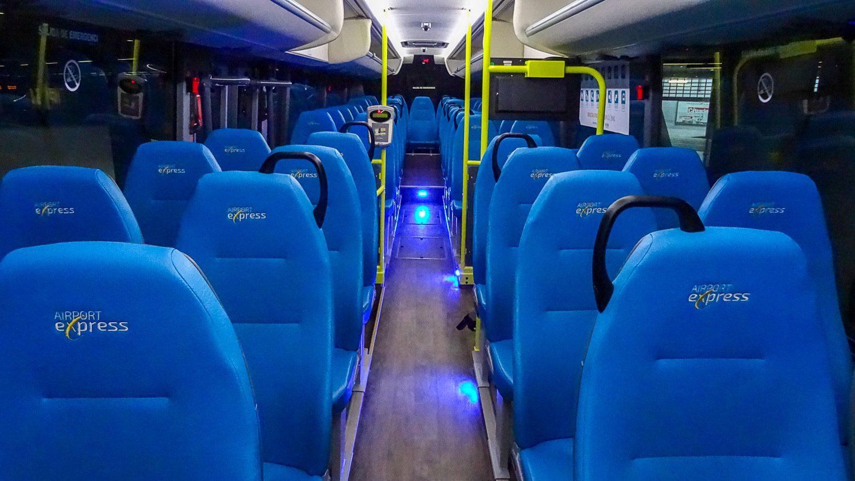 Автобус из аэропорта Гран-Канарии