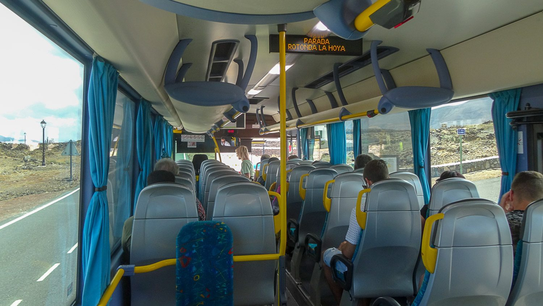 Автобус на Лансароте