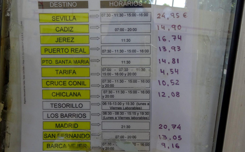 Цены на билеты из Ла-Линеи