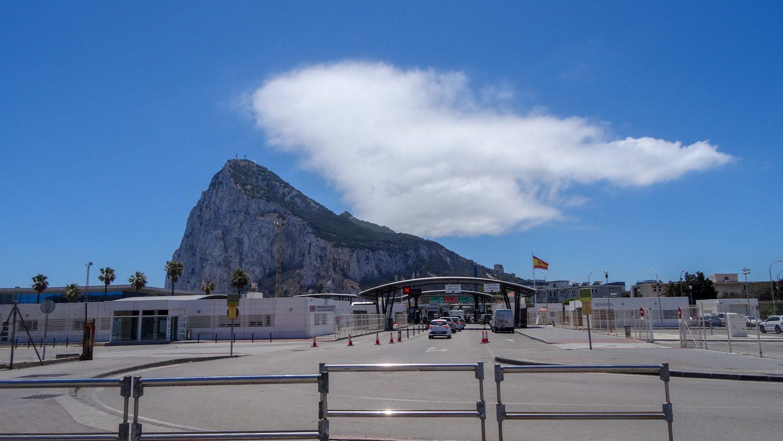 Снова виды на Гибралтарскую скалу