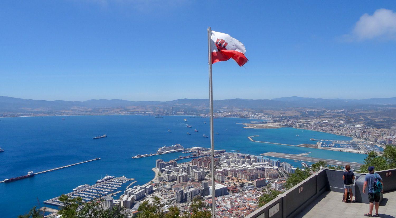 Гибралтарский флаг