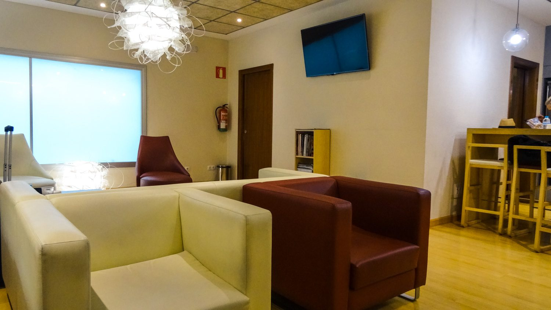 Бизнес-зал в аэропорту Севильи