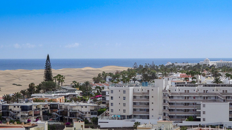 Вид на океан и дюны