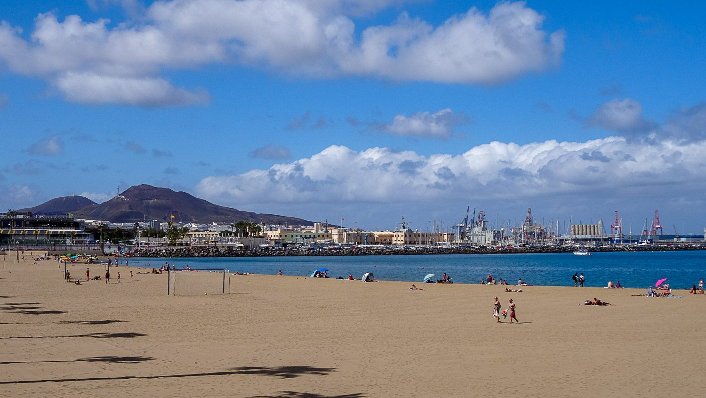 Пляж Las Alcaravaneras