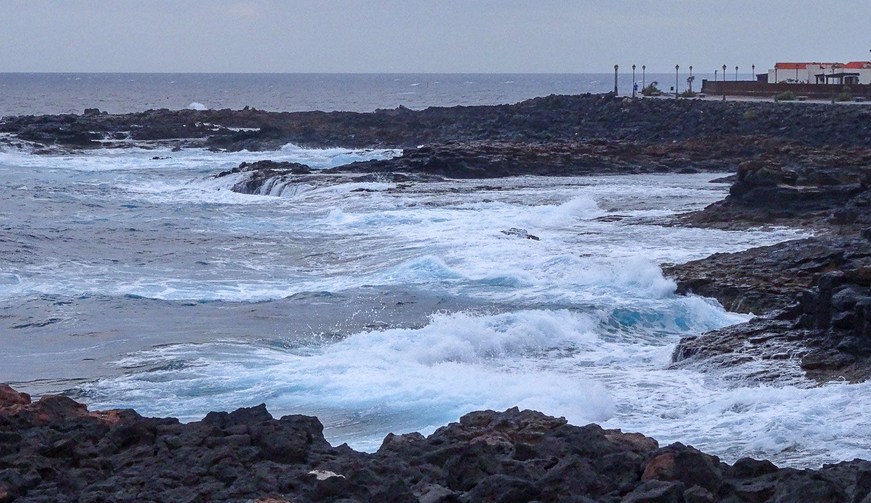 Здесь волны особенно сильные